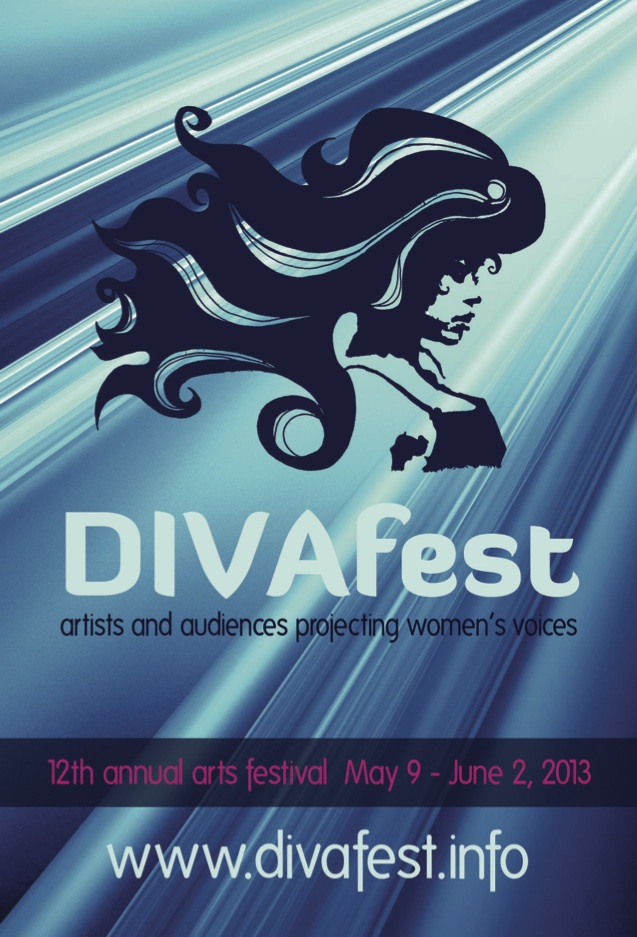 DIVAfest postcard front
