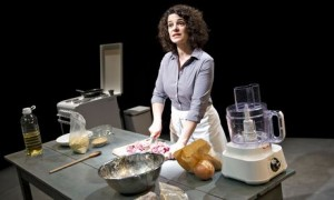 'The scent of memory': Corinne Jaber in Oh My Sweet Land at the Young Vic.